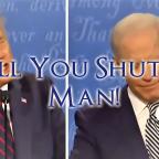 Joe Biden's Been Telling People to 'Shut Up' His Entire Career
